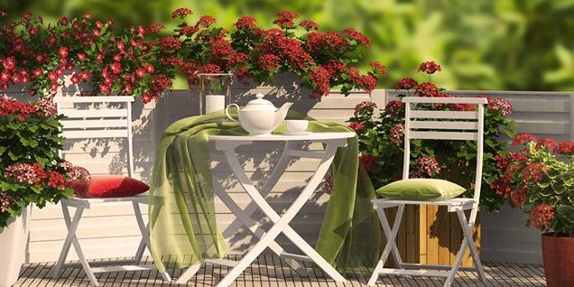 Astuces d co am nager un balcon - Amenager un petit balcon en ville ...